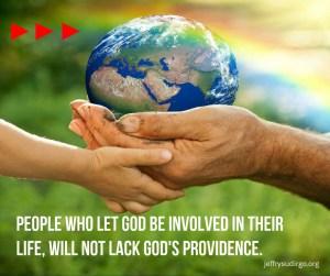 God involved