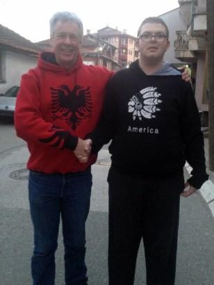 ALBANIA MEETS AMERICA