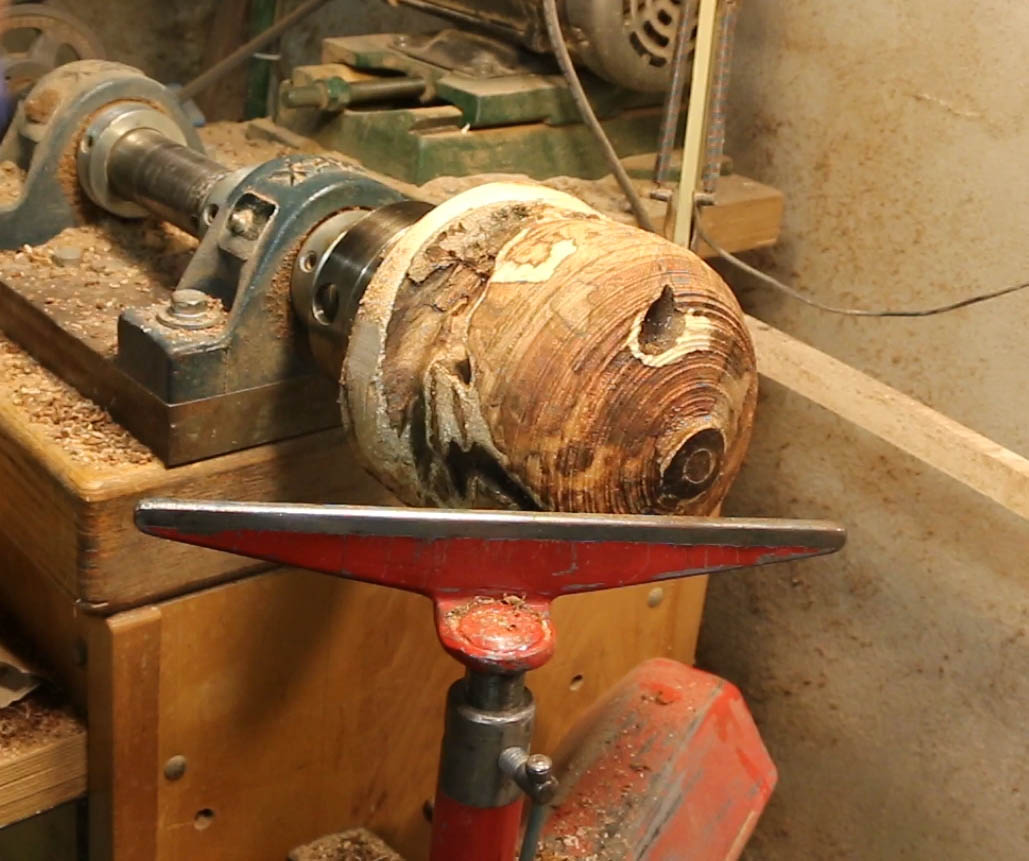 How to turn a green burl