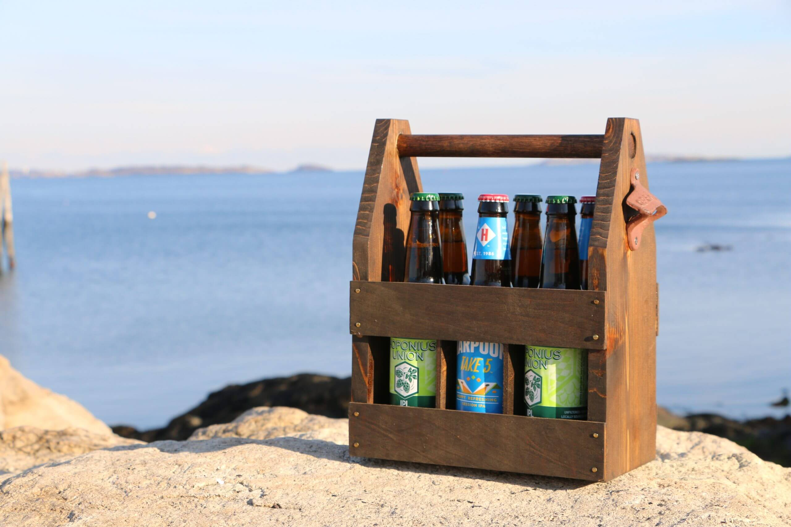 Make a Beer Caddy / 6-pack holder