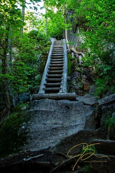 On the way up! Seek The Peak 2013