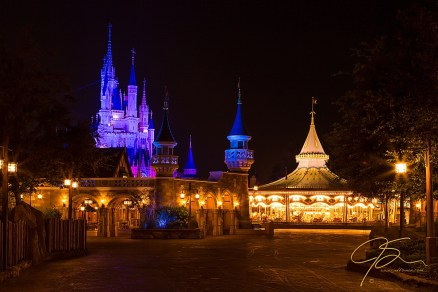 carousel_and_castle_disney_magic_kingdom_8381