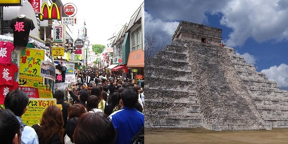 From Tokyo to Tulum: Distant Places, Different Messages