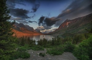 Sunrise Wild Goose Island photographed by Jeff Wendorff