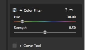 Color Filter Settings