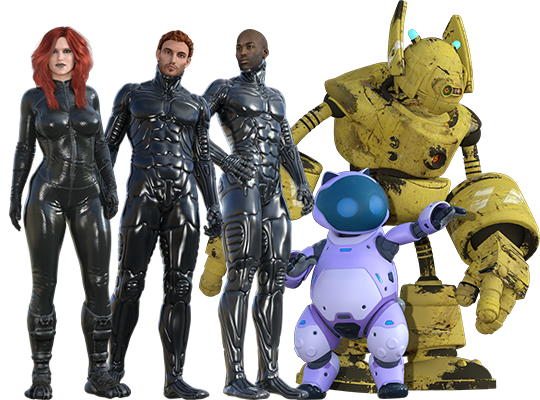 Extraterrestrial comics cast