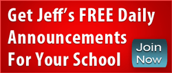 Motivational Minutes Jeff Yalden school announcements