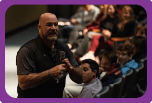 High School Assemblies are moments that inspire High School Students