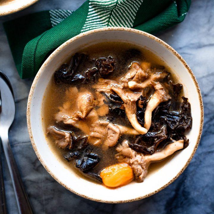 Spicy Nigerian Vegan Pepper Soup
