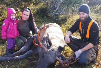Villmarks_familien- Barn med på jakt og turer