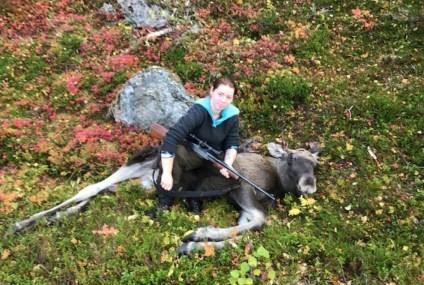 Benedickte Sofie holte (20) trosser sykdommen og skjøt sin første elg