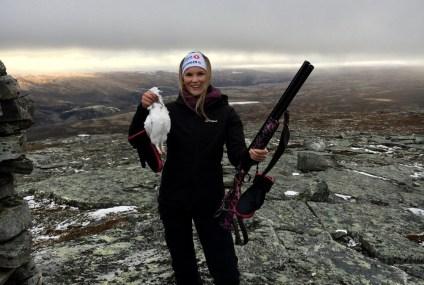 Solveig Heggeli Slettvoll (20) forteller om sitt første jaktår
