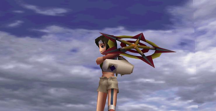 Final Fantasy VII Limit Breaks Yuffie