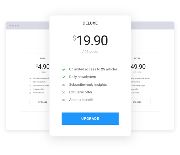 Jeg Paypal Paywall & Content Subscriptions System - WooCommerce Plugin - 5