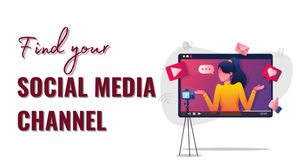 to Focus on your main social media channels