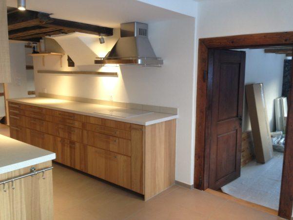 Küchenabdeckung Weiss
