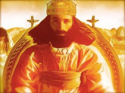 Alpha en Omega Jehovah Zelf is Koning Geworden