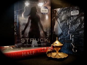 Struck by Jennifer Bosworth and The Creeping by Alexandra Sirowy