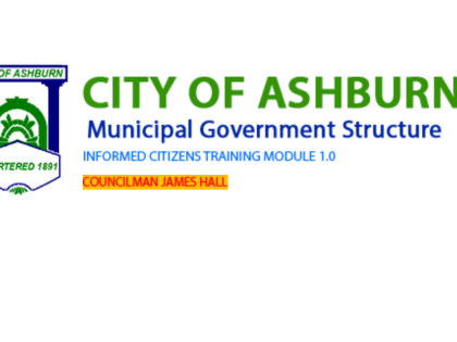 Ashburn City Government Structure Captivate 7 Learning Module