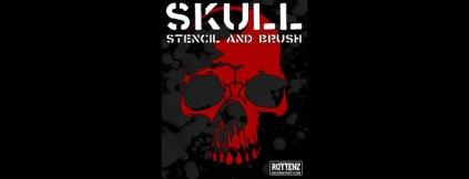 skull-brushes
