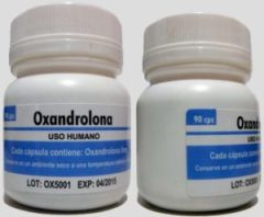 Oxandrolona comprimido