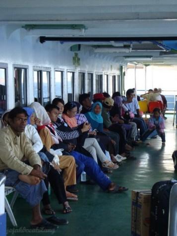 penumpang ferry Labuan - Sape
