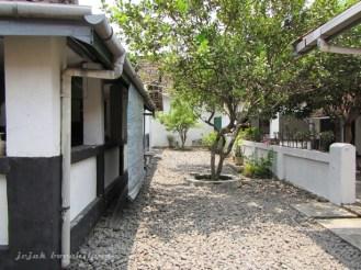 halaman belakang Istana Gebang