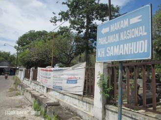 makam Samanhudi - Laweyan
