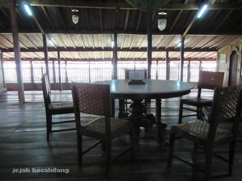 ruang tamu rumah Limas Palembang