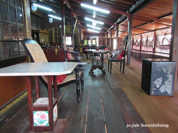 jogan di rumah Limas Palembang