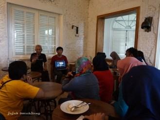 Pak Tjahjono share cerita Thomas Karsten