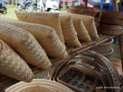 kerajinan tas bambu Sendangagung