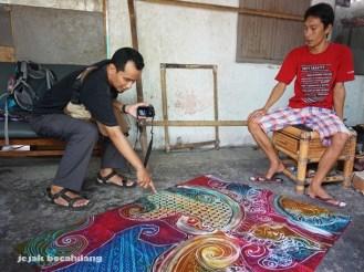 Aan dari Yogya berbincang dengan Pandono