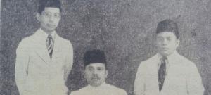 Natsir, Hamka dan Isa Anshori di tahun 1941