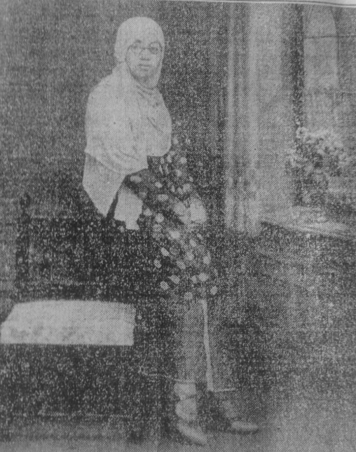 Rasuna Said di Majalah Pedoman Masjarakat tahun 1938. Sumber: Dokumentasi Sarah Mantovani