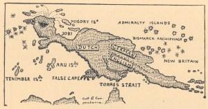 Peta Papua di masa lalu. Sumber foto: Papuaweb.org