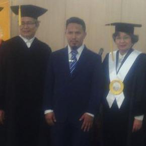 Pembina JIB Raih Gelar Doktor Bidang Sejarah