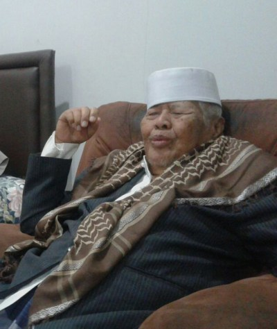 Pak Kafrawi, saksi penyerbuan PKI di Ponpes Gontor. Diwawancara bulan Agustus 2016 silam. Sumber foto: JITU