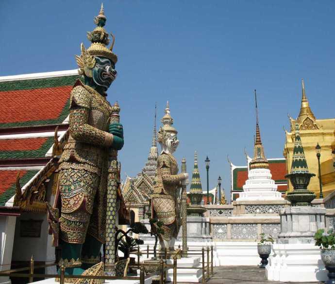 thailand siam istana raja