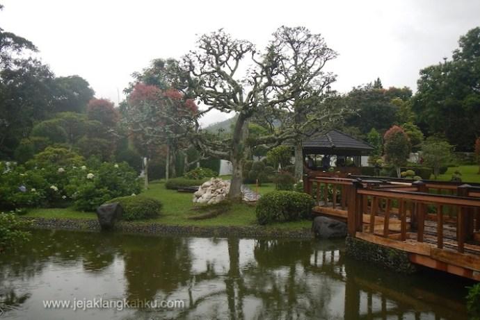 taman bunga nusantara puncak cipanas wisata jakarta