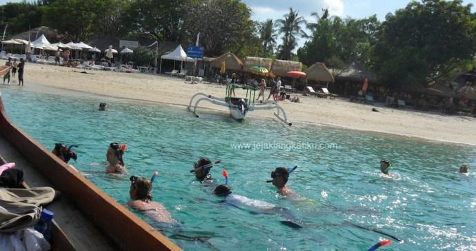 wisata gili lombok trawangan meno air
