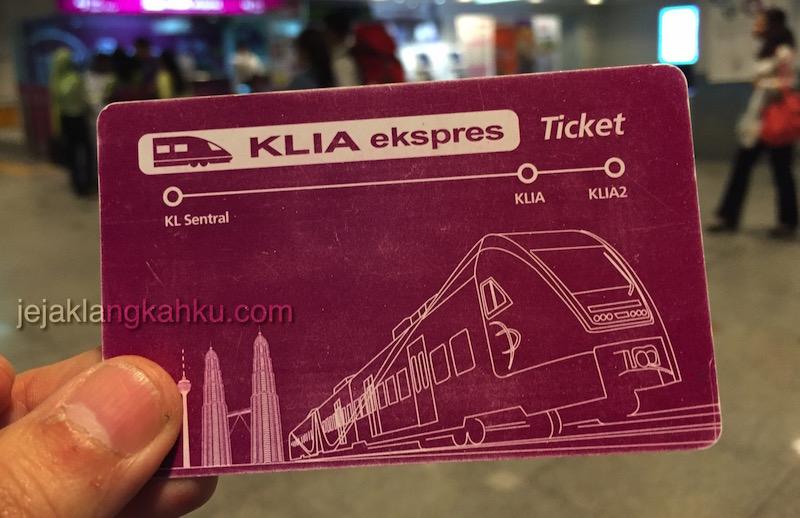 KLIA express KL Sentral 4