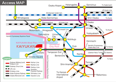 kaiyukan subway map