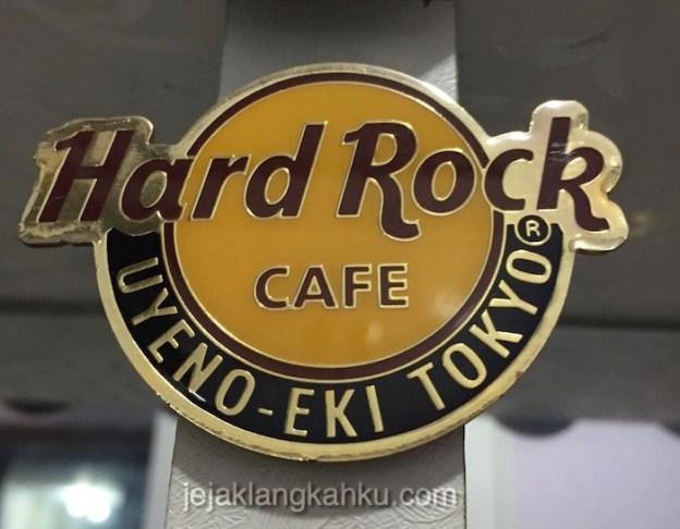Berburu Merchandise Hard Rock di Tokyo Jepang