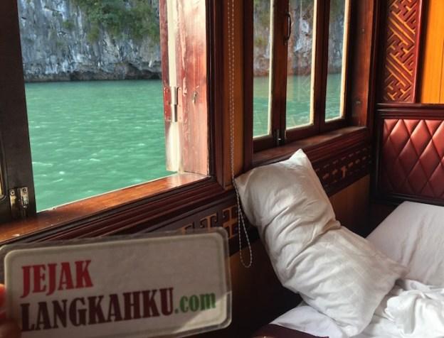 2 Hari 1 Malam Berlayar & Kongkow Cantik di Golden Lotus Cruise, Halong Bay Vietnam