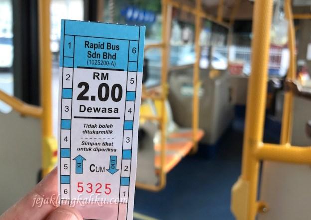 Transportasi dari Bandara & Keliling-Keliling Kota Penang, pake Bus Rapid Penang Ajah