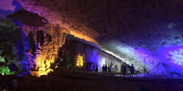 Jelajah Gua Terbesar di Sung Sot Cave, Amazing Cave Halong Bay Vietnam