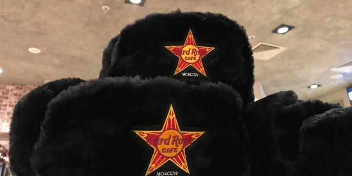 Berburu Merchandise Hard Rock di Moscow Rusia