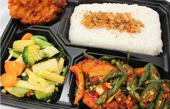 Ulasan tentang nasi kotak Medan yang enak dan halal.