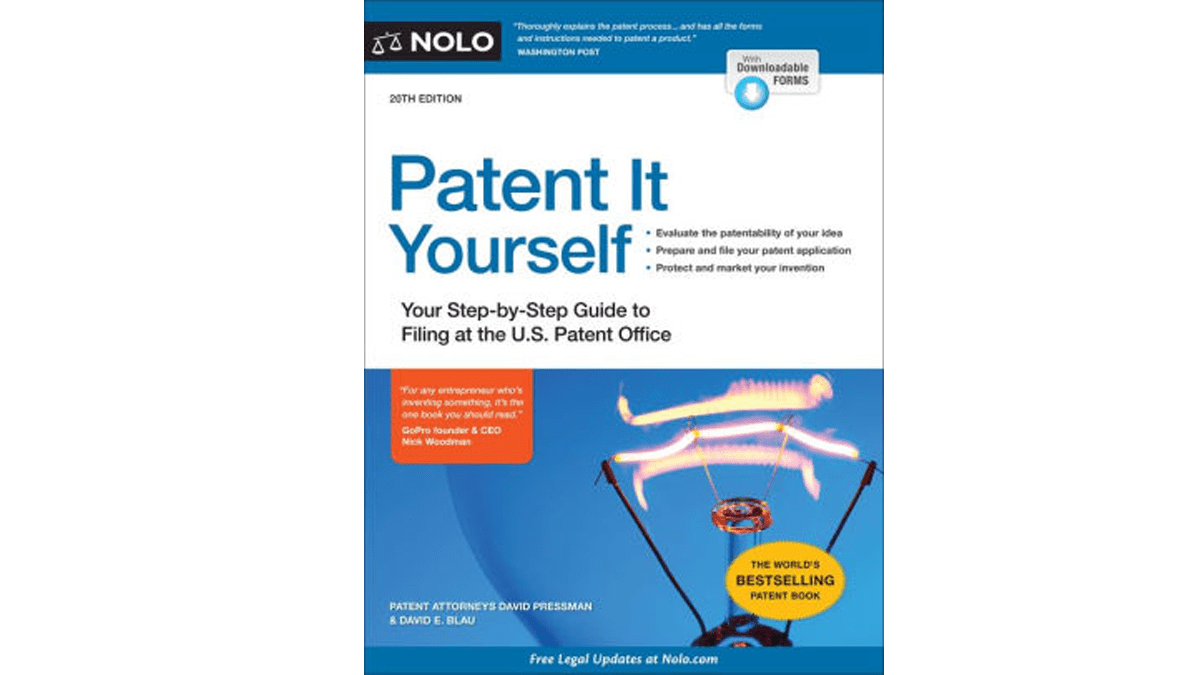 Related image of Patent It Yourself: Your Step-by-Step Guide to Filing at the U.S. Patent Office 20th edition, pdf, ebook and download by David Pressman